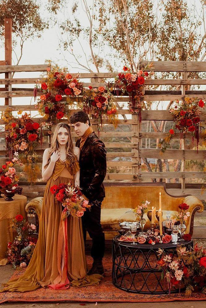 30 Rust Wedding Color Ideas Wedding Forward Wedding