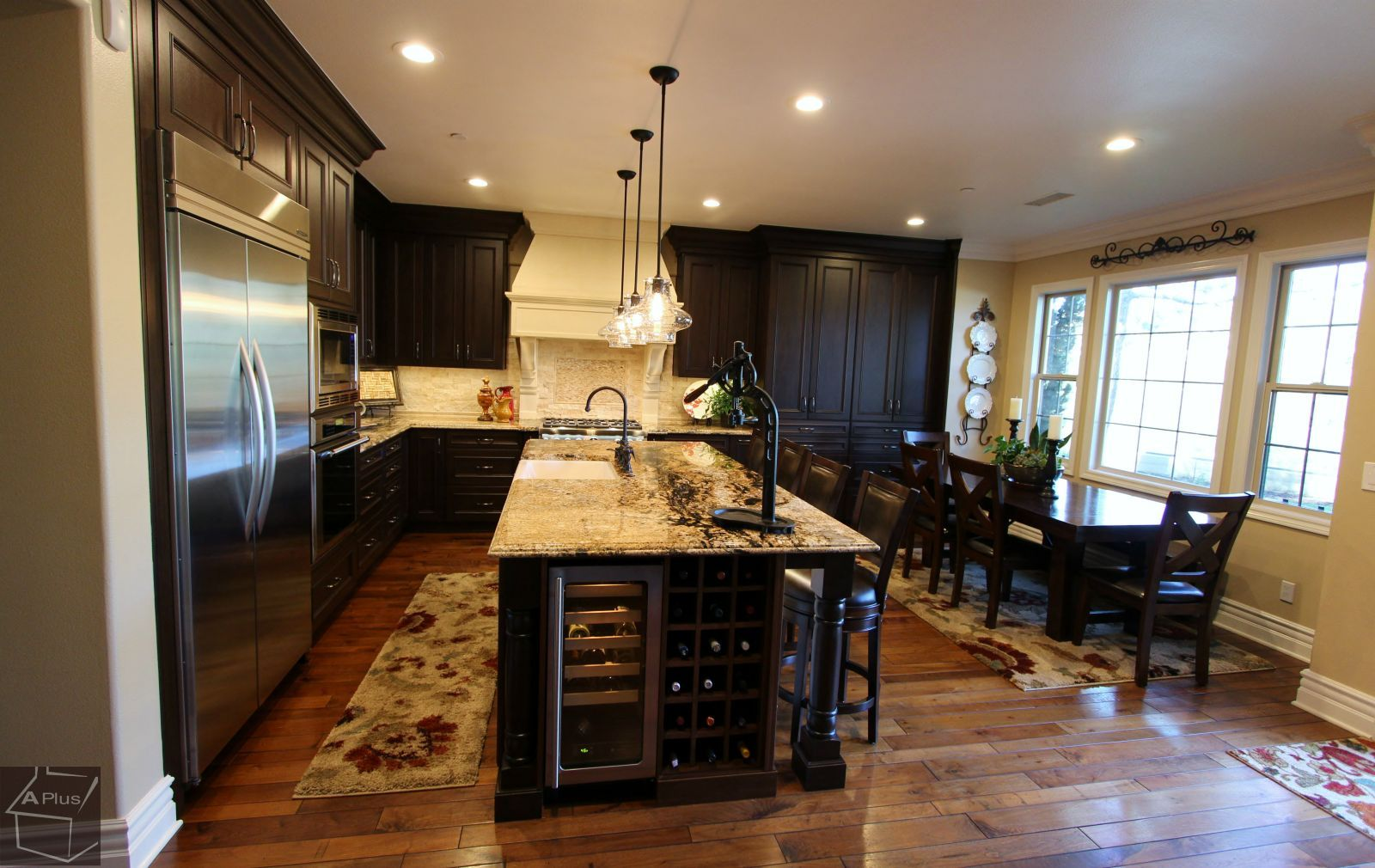 design build traditional style kitchen remodel san clemente orange county - Orange County Kitchen Remodel