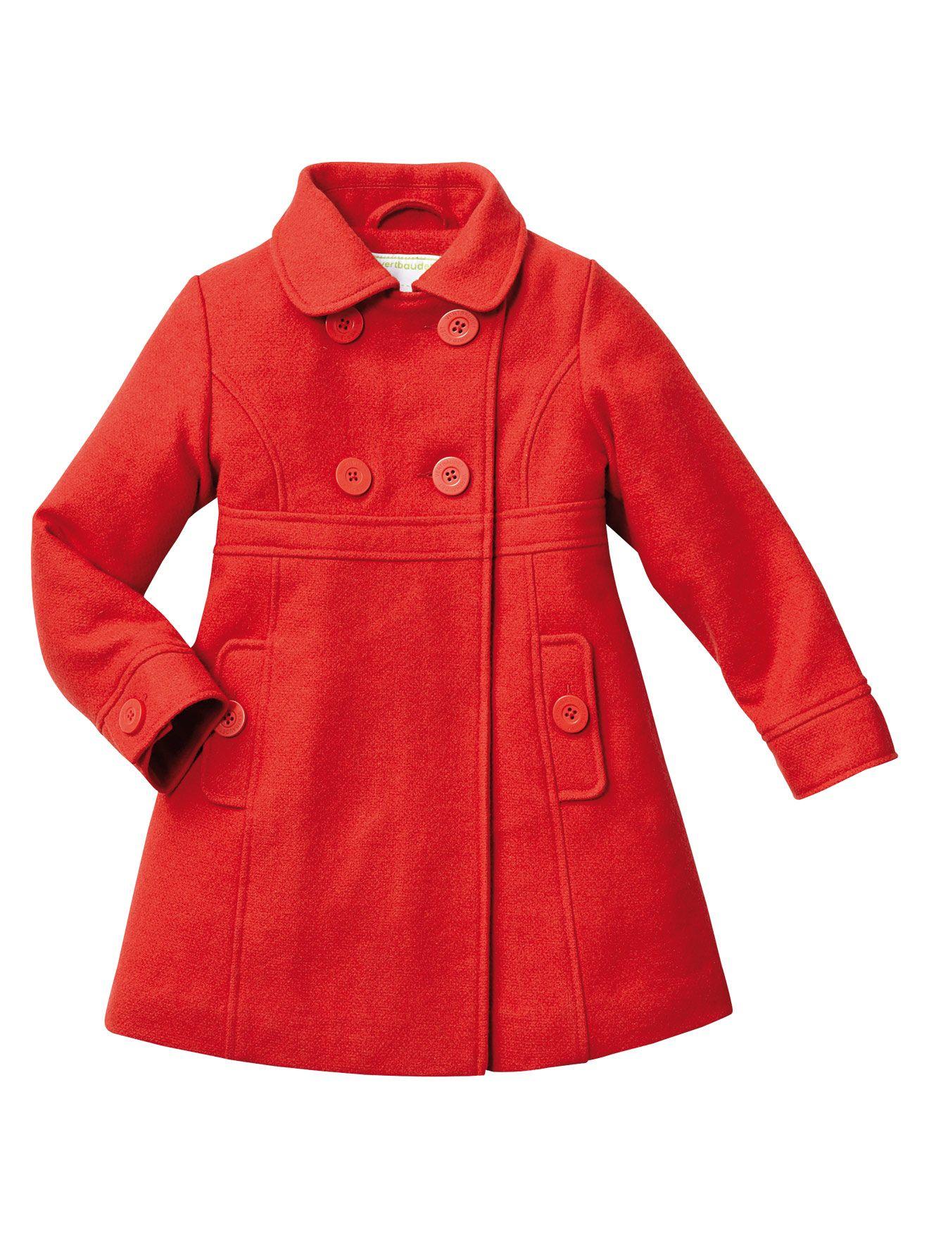 12050c529 Abrigo paño de lana Frío Moderado niña 2 a 14 años, Niña | Niños ...
