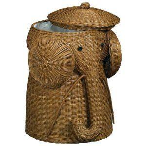 Elephant laundry basket!!! <3