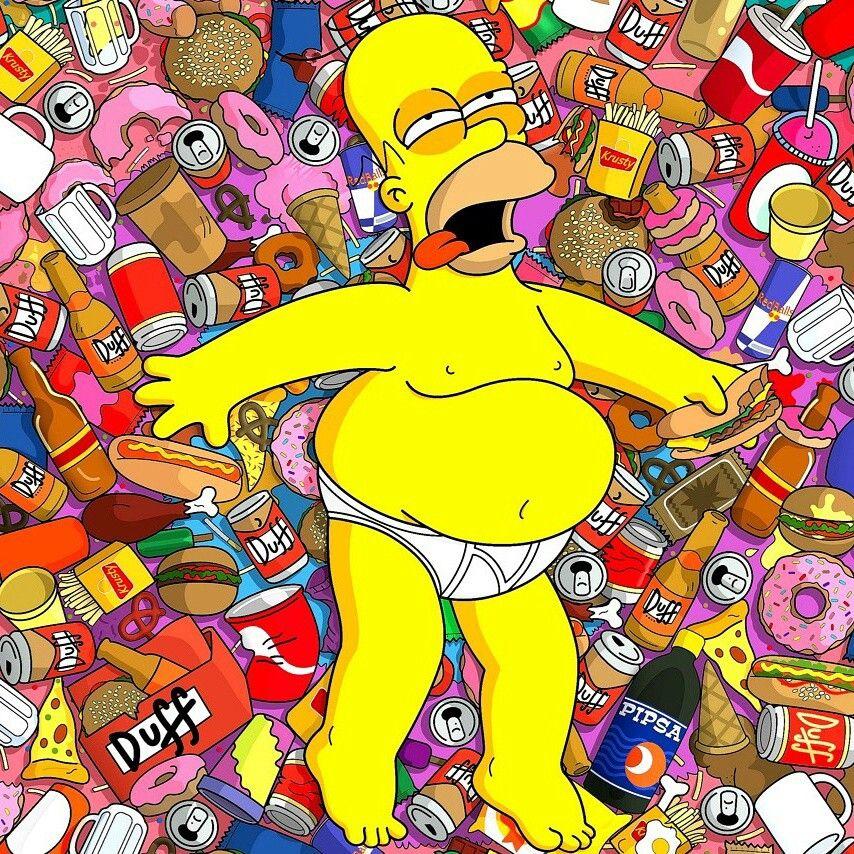 Fin de semana gostrong simpson homer simpson the simpsons et simpsons art - Bande dessinee simpson ...