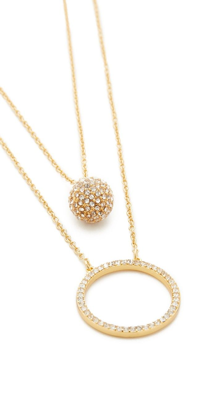 Ring it up necklace set crystal fashion pendant set and ring