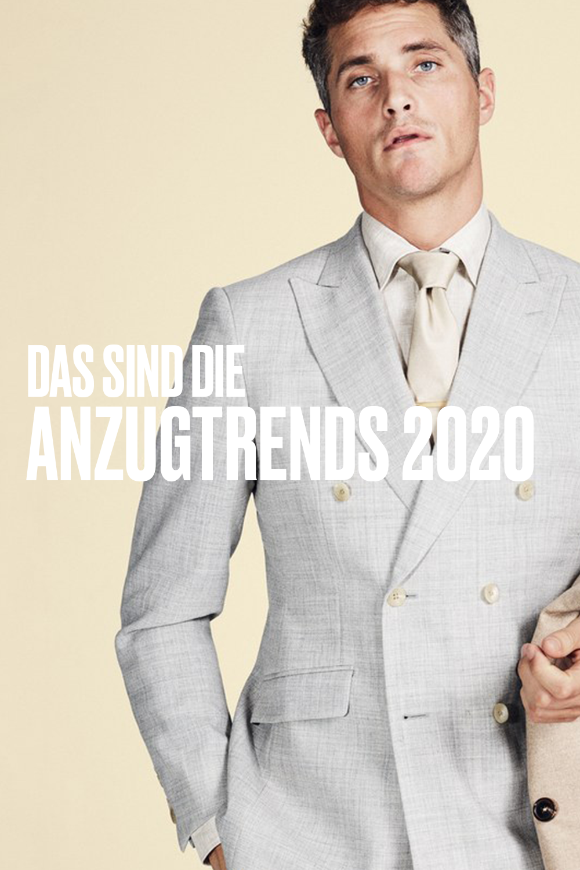 Frischer Wind für Ihren Anzug Style in 2020 | Anzug