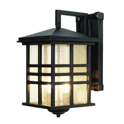Bel Air Lighting 2 Light Black Outdoor Incandescent