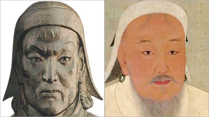 Cengiz Han 1162 Yılında Moğolistanda Doğmuş Moğol Börçigin