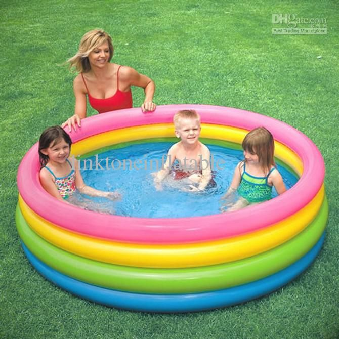 2017 Wholesale Children Summer Swimming Pool Baby Play Pool Kids ...
