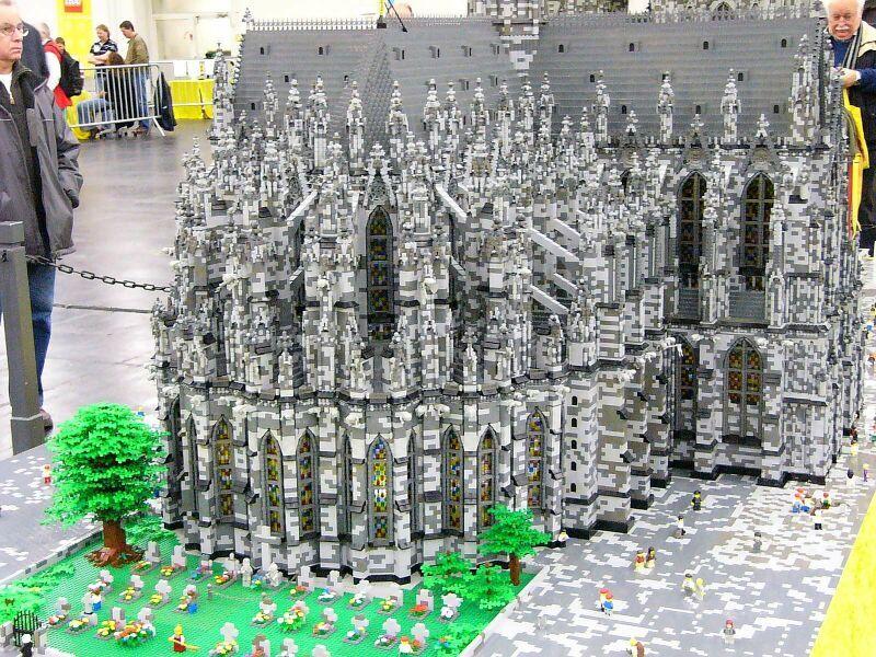 Modellbaumodellbahn Messe Köln 2008 Hansebubeforum Lego Haus