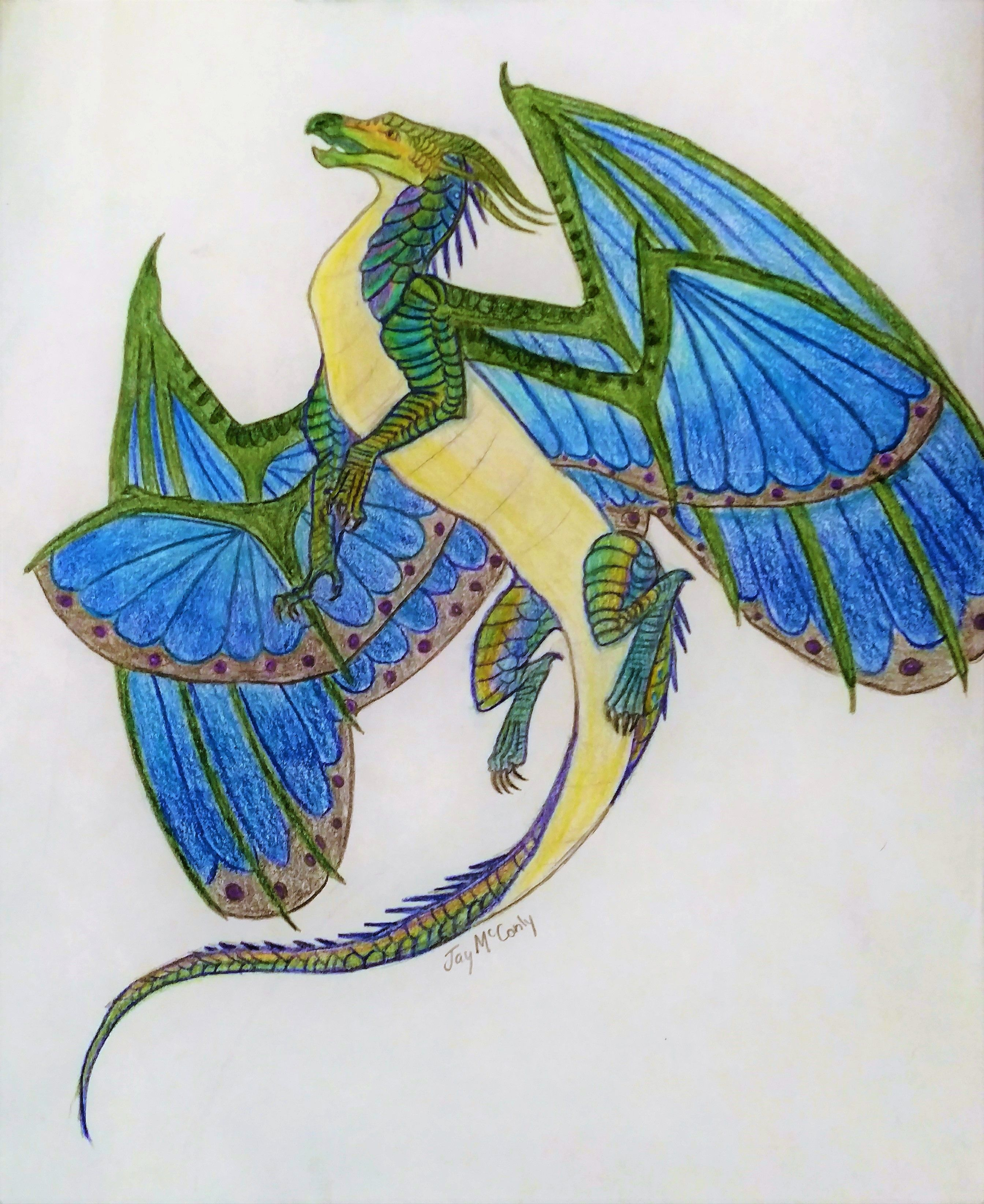 Wings of Fire- Dragon of the lost continent SilkWings ...