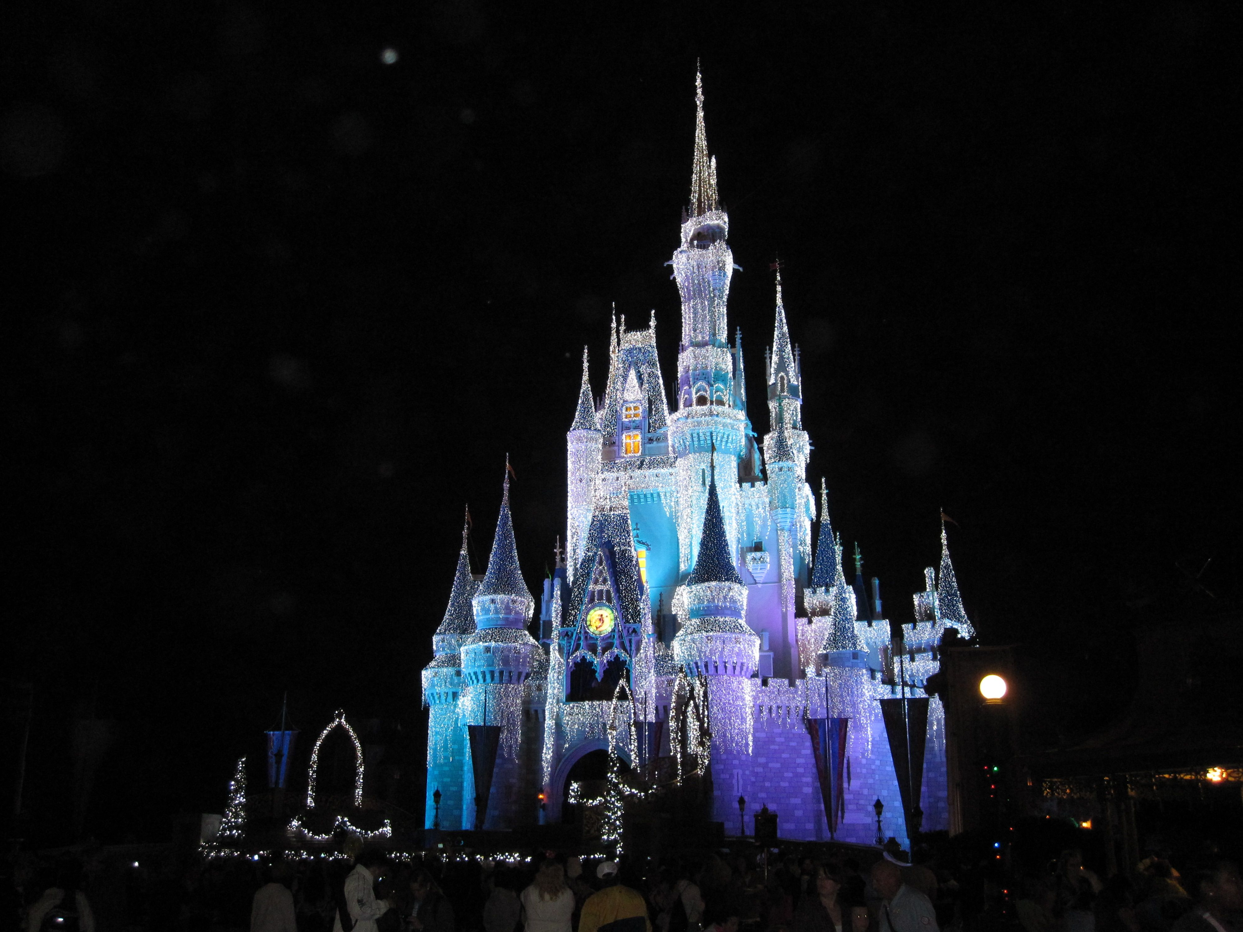 Disney World at Christmas