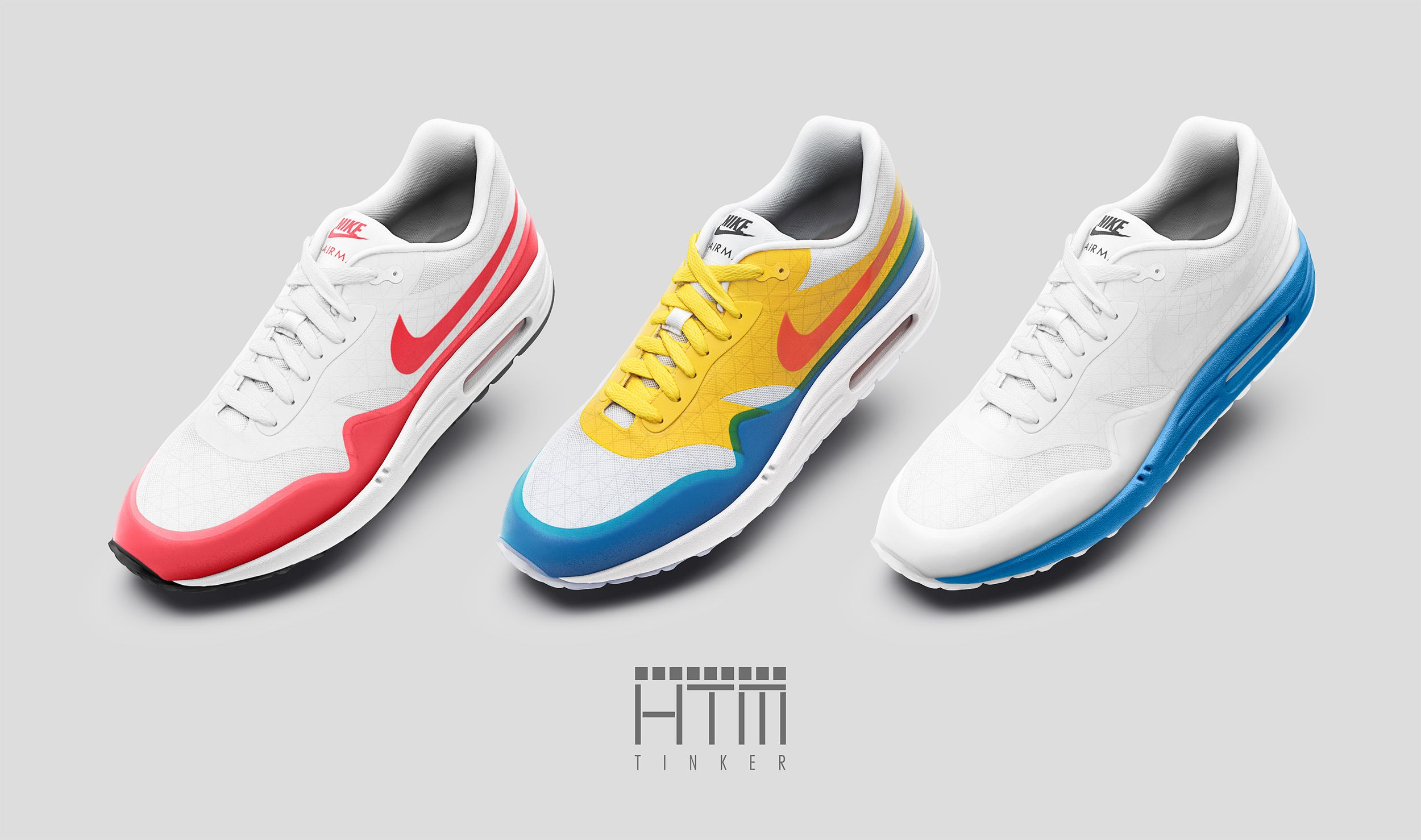 lengua En honor convertible  Nike Air Max 1 HTM iD Tinker Hatfield   WAVE®   Nike, Air max 1, Nike air  max