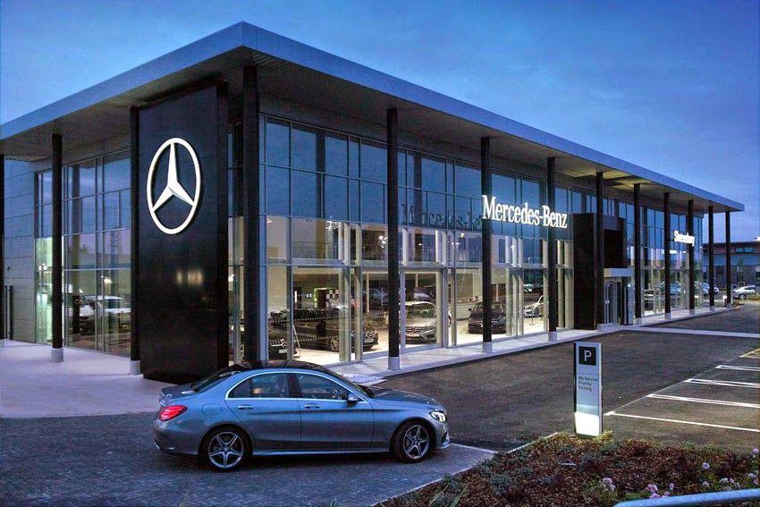 Shrewsbury site heralds a brand new look for MercedesBenz