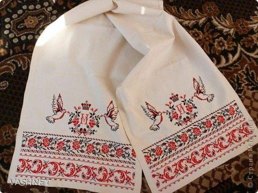 Купить ткань для вышивки крестом рушников