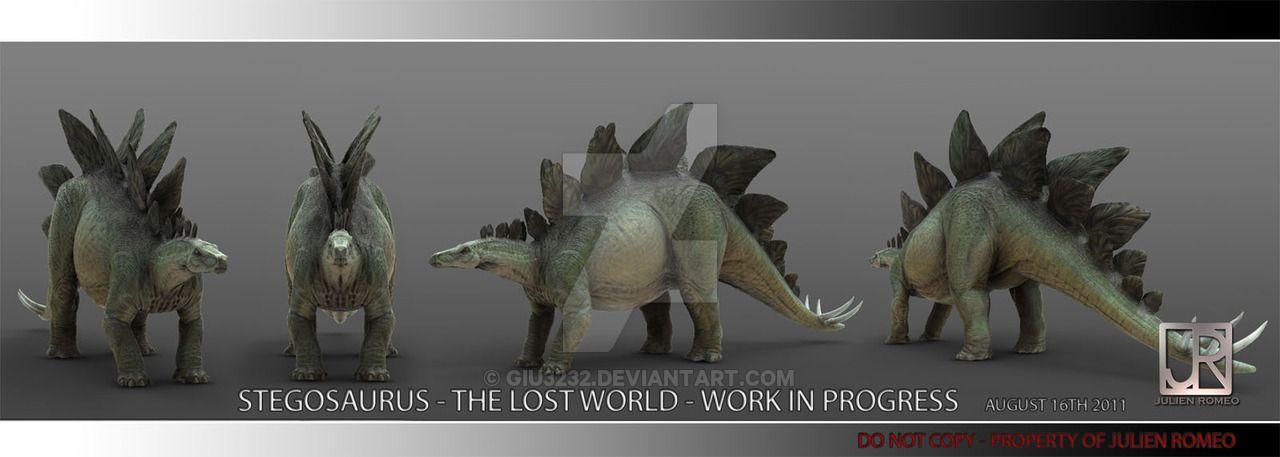 TLW STEGOSAURUS 002 by GIU3232 | Paleo art, Stegosaurus ...