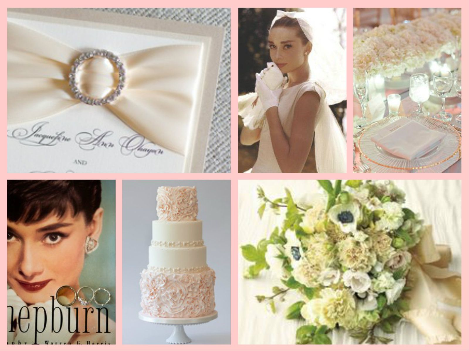 Audrey Hepburn Wedding Theme