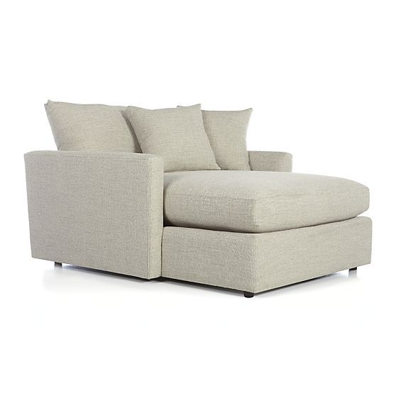 Lounge II Chaise In Sofas | Crate And Barrel. Taft Cement