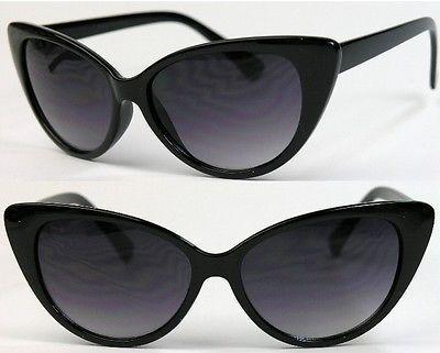 CAT EYE DAMEN BRILLE Retro Sunglasses 50er 60er Katzenaugen Vintage