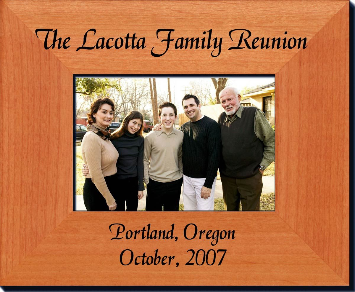 Family Reunion Frame Great Father S Day Gift Idea 23 36 With