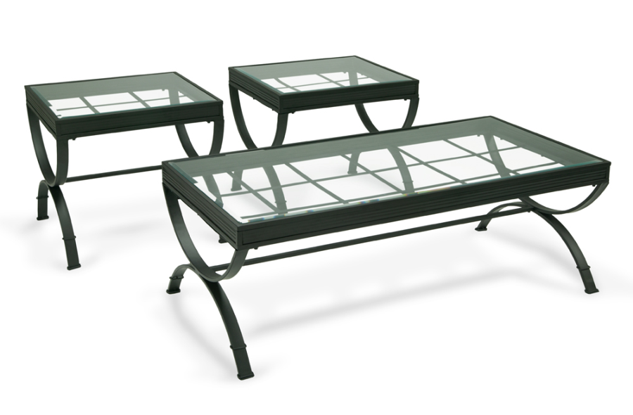 This Sleek Glass Top Coffee Table Will Add Elegance And Style To Your  Living Room. My Emerson Black Coffee Table Set Has Upscale Ambience At  Value Prices!