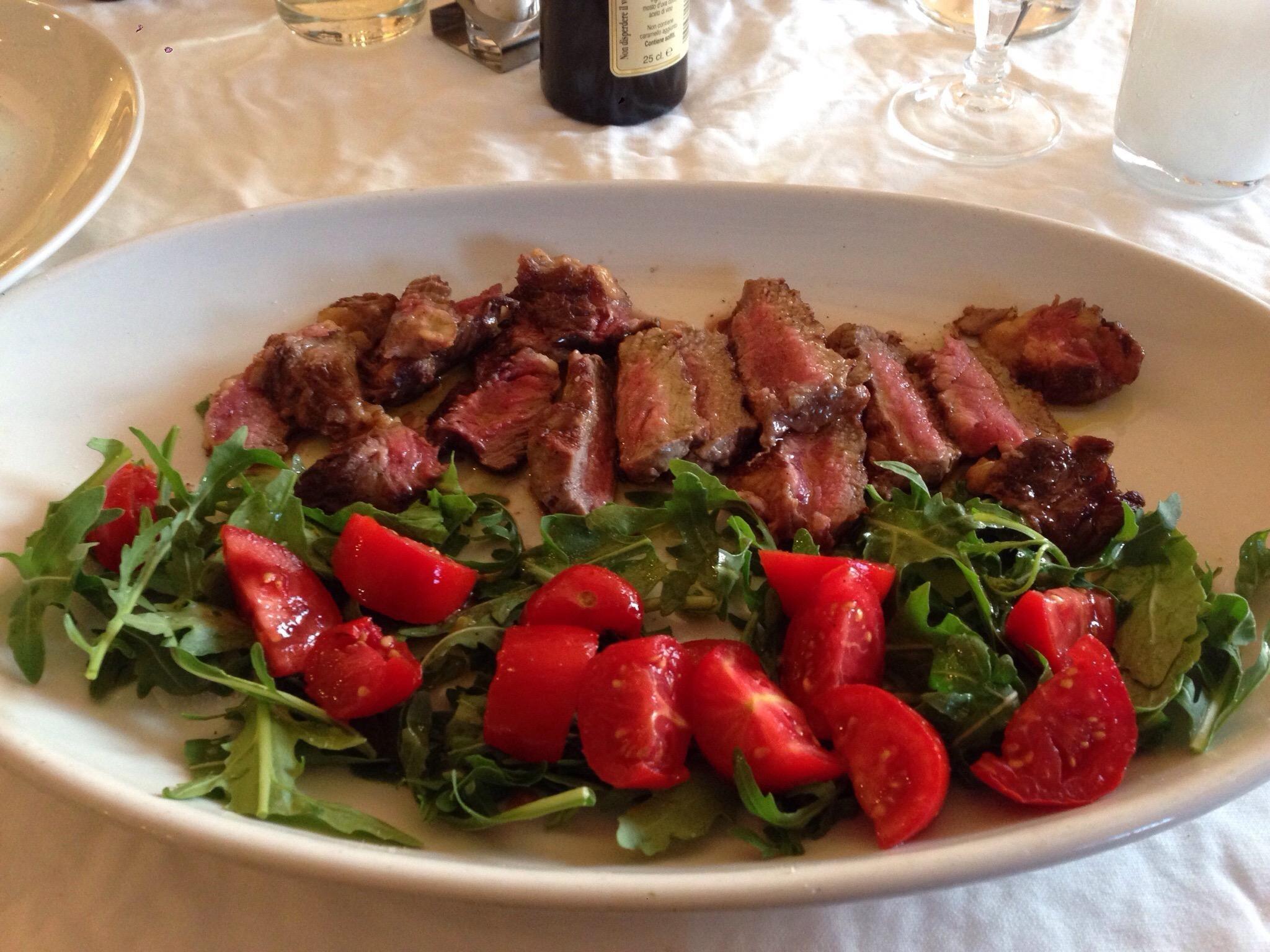 Tagliata Con Rucola E Pendolini Il Giardino Della Galla Oyrmpino Kritikes Estiatoriwn Tripadvisor Cooking Food Italian Cooking