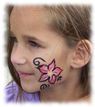 maquillaje peinados pintura de la cara para los nios pintura de la cara sencilla ideas de la pintura para los nios pintar las ideas