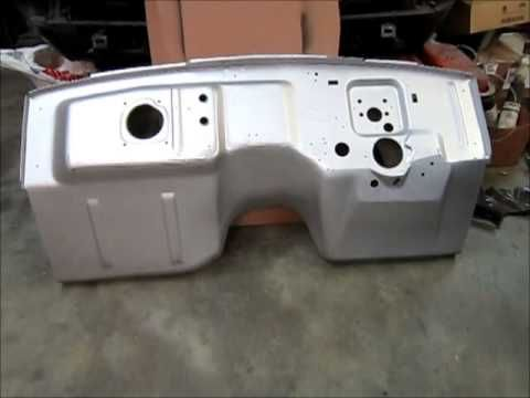 How To Install A Dynacorn Floor Pan In Your 1965 1970 Mustang Part 1 Mustang Restoration Chassis Fabrication Mustang Parts