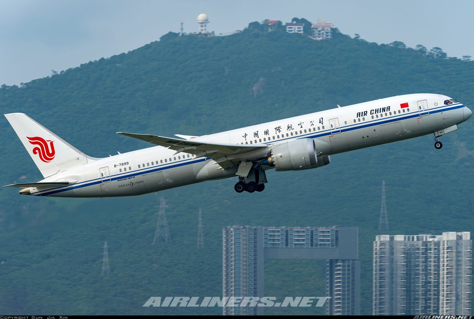 Boeing 7879 Dreamliner Air China Aviation Photo