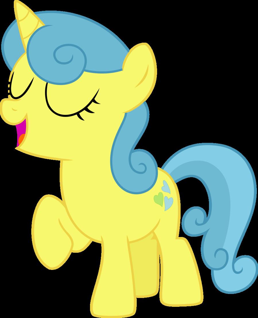 MLP Filly Lemon Hearts My Little Filly Cuteness Is