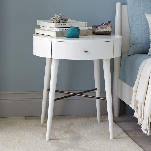 round nightstand | colorful | pinterest | round nightstand