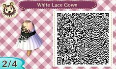 Bonthreads Summer Puff Skirt White Lace Gown Based On Actual Dresses From Layletteofhazel S Wishlist Ac New Leaf Animal Crossing Google Ubersetzer