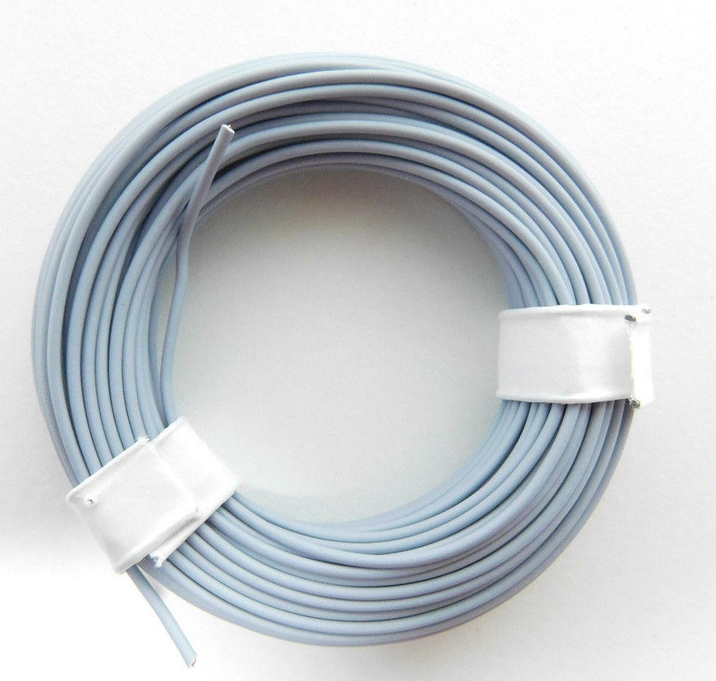 $1.71 - (0,135 Ÿ/ M) 32 10/12Ft Stranded Wire/Cable Gray E.G. For ...