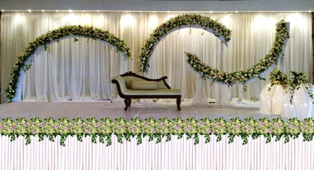 Fashion beauty wallpapers wedding stage decoration kerala for Stage decoration interieur