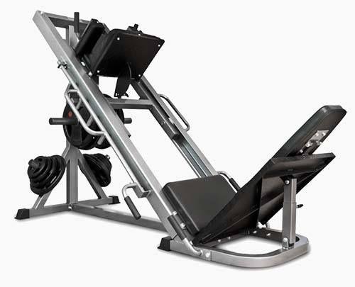 Bodymax cf leg press review by garage gym weight training