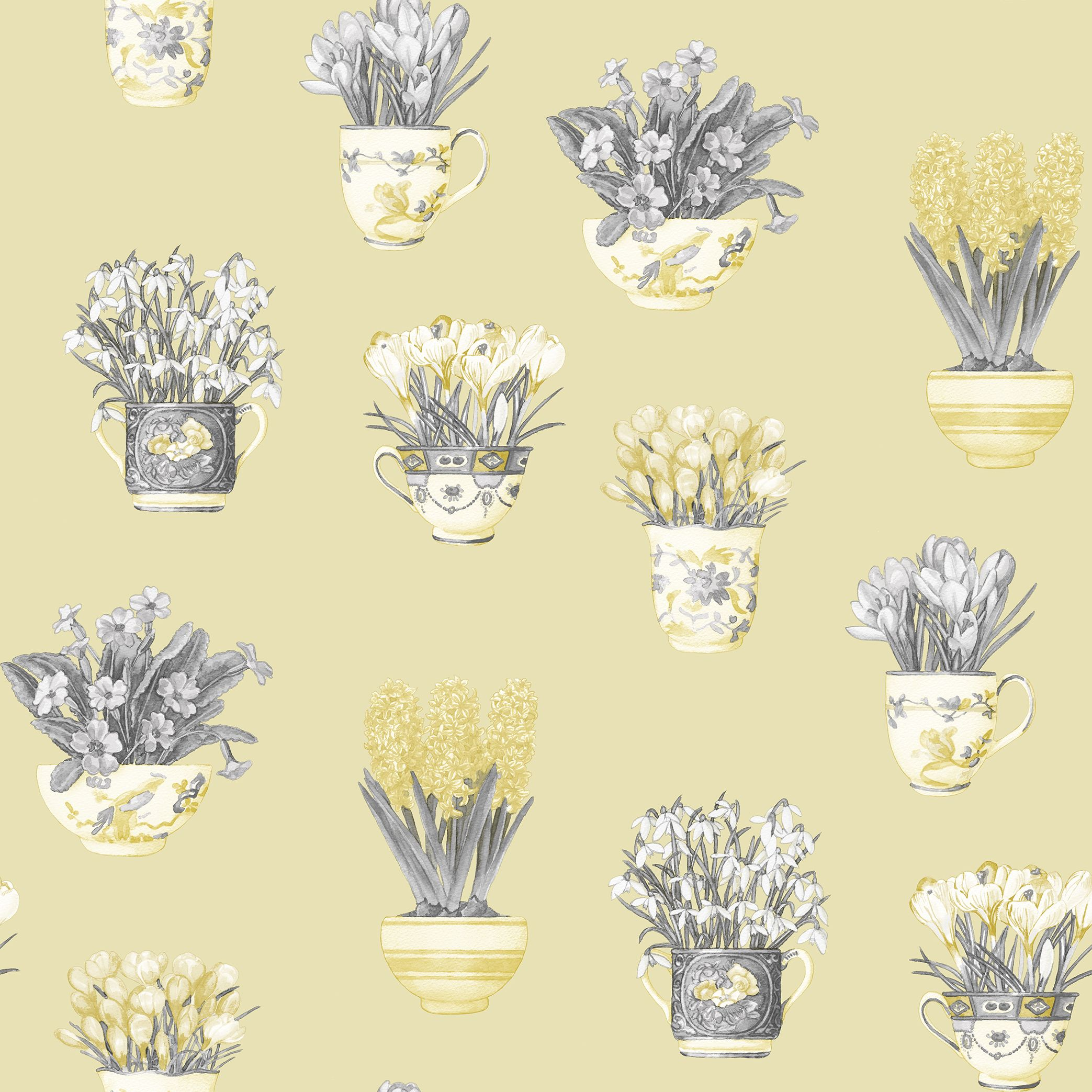 Potted Plants by Galerie Yellow Wallpaper FK34420