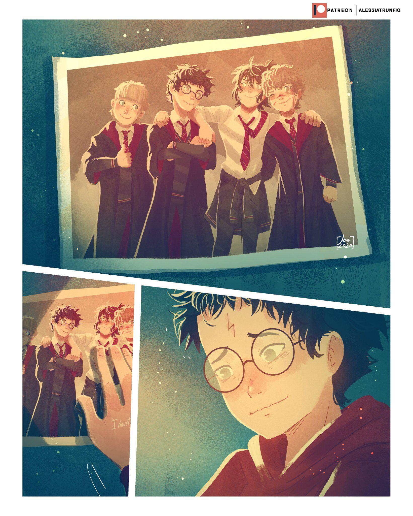 Alessia Trunfio On Twitter Harry Potter Traurig Harry Potter Bilder Harry Potter Comics