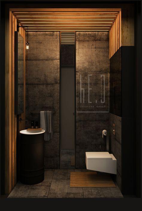 Bathroom Loft Interior Design By He D Creative Bathroom