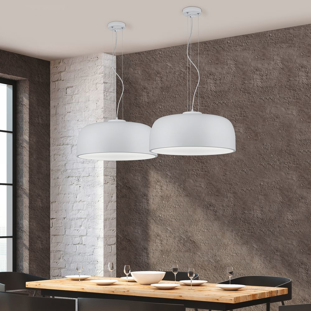 Skandinavische Hangeleuchte Brixham Von Eglo Klar Glass Pendant Light Rustic Light Bulbs Modern Pendant Light