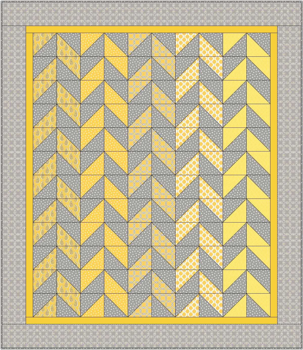 Herringbone - A Free Quilt Pattern for You! | Sewing Tutorials ... : free patterns for quilting projects - Adamdwight.com