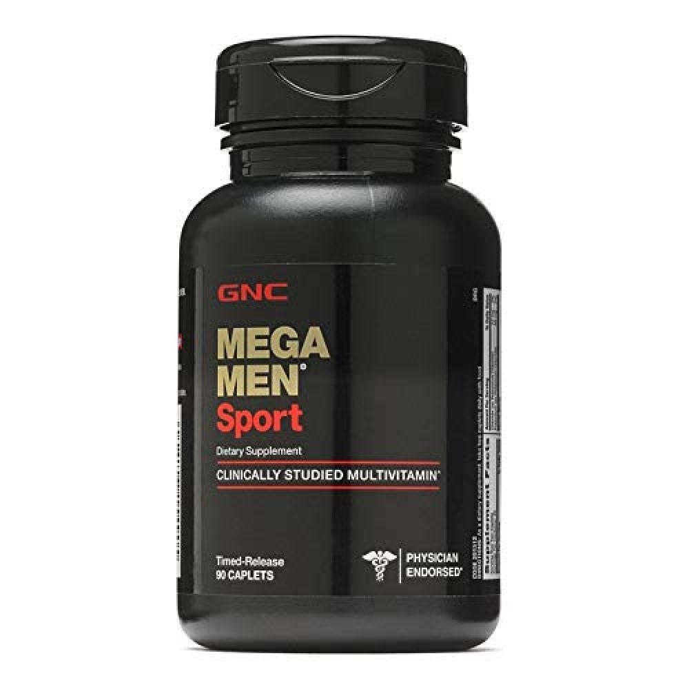 GNC Mega Men Sport Multivitamin for Men, 90 Count, for