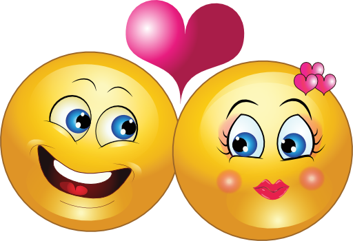 Download Lovely Couple Smiley Emoticon Clipart   Emoticon, Clipart ...