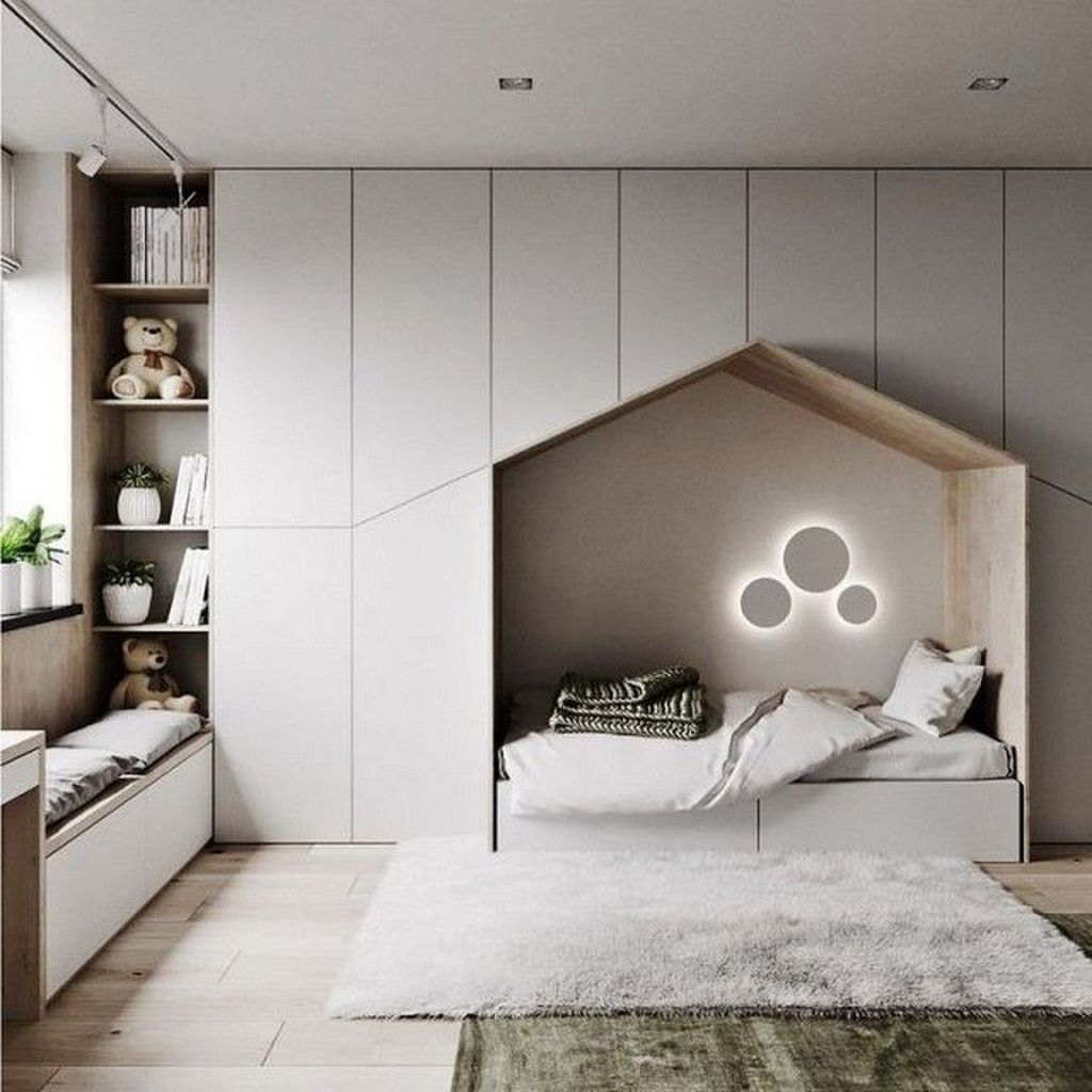 33 Awesome Minimalist Bedroom Design That You Can Copy Interior Design Bedroom Minimalist Bedroom Design Cozy Bedroom Design Popular minimalist children's bedroom