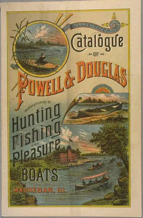 1884 Trade Catalog Cover Hunting Fishing And Pleasure