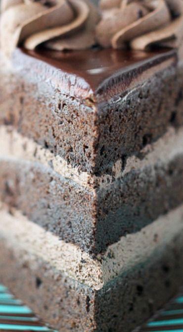 Chocolate Mudslide Cake | Receta | Tartas y Chocolates