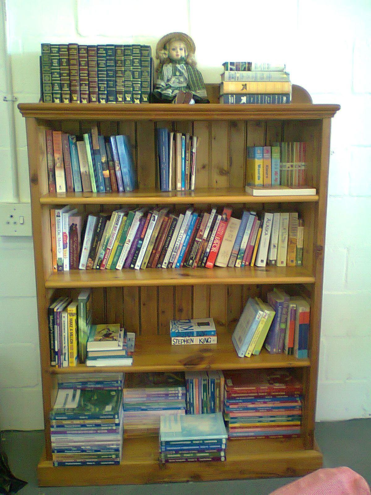 Simple Neat Bookshelf