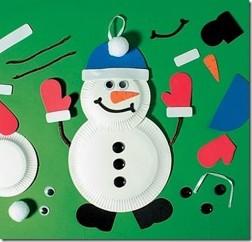 Muneco De Navidad Christmas Pinterest Navidad Manualidades - Manualidades-de-navidad-para-nios-de-preescolar