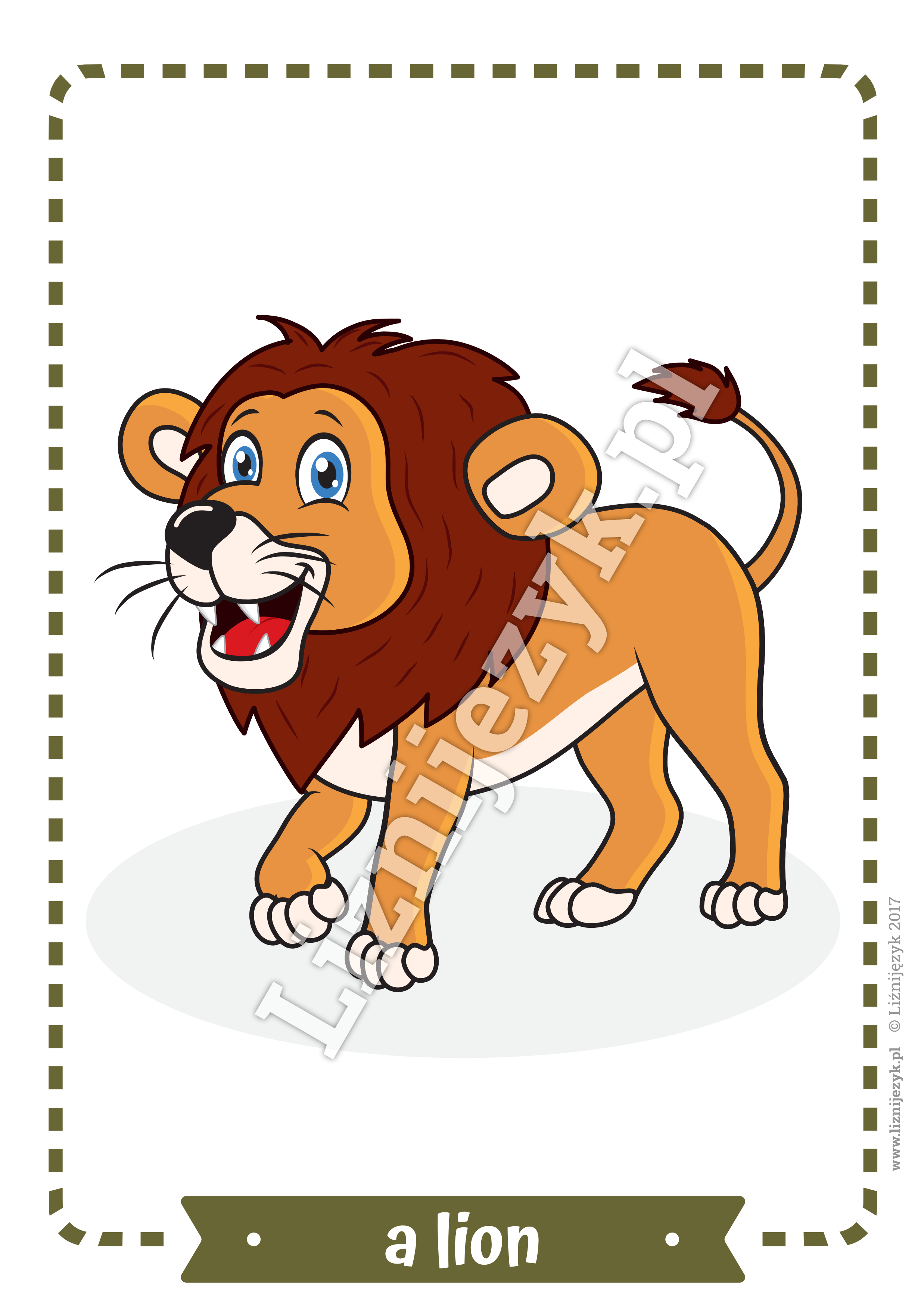 Wild Animals English Flashcards Animals, Animal