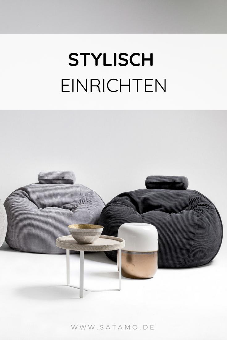 Design Sitzsack Fur Innen Und Aussen Online Kaufen Satamo Einrichten Und Wohnen Sitzen Stylische Mobel
