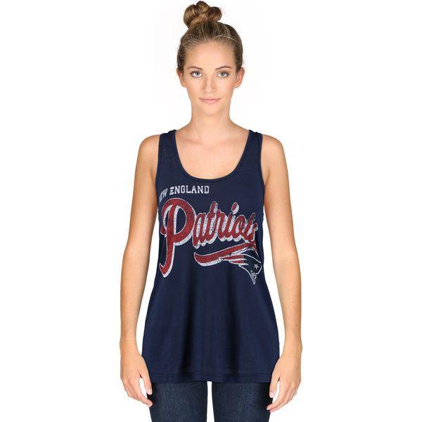 3641d77d Women's New England Patriots G-III 4Her by Carl Banks Navy Touchdown ...