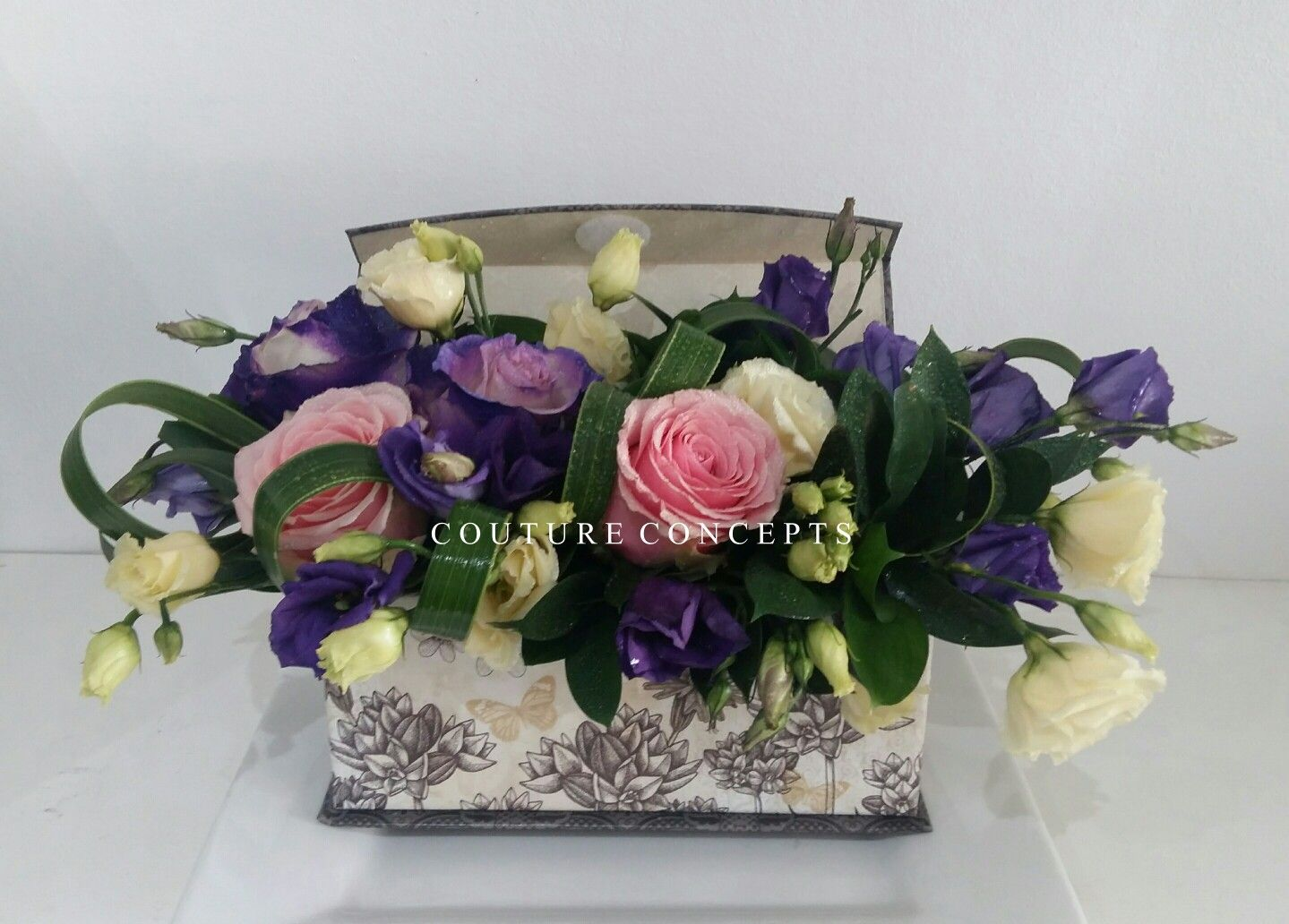 Tge #CoutureConceptsExperience through florals.