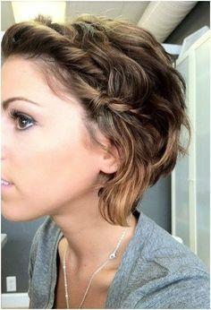 Kurze Haare Flechten? Sicherlich Geht Das! 14 Sehr Schöne