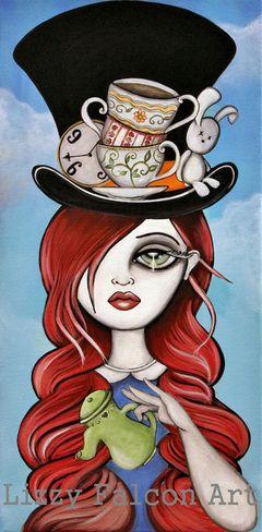 Lizzy Falcon | Alice in Wonderland